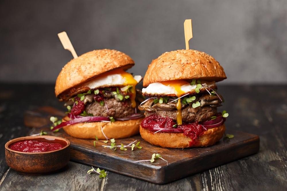 is a burger a sandwich