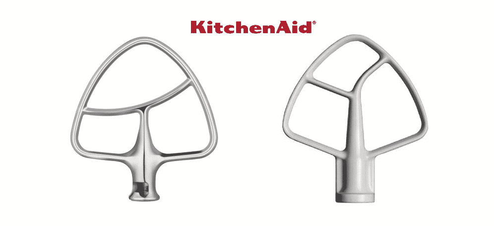 kitchenaid flat beater burnished vs coated