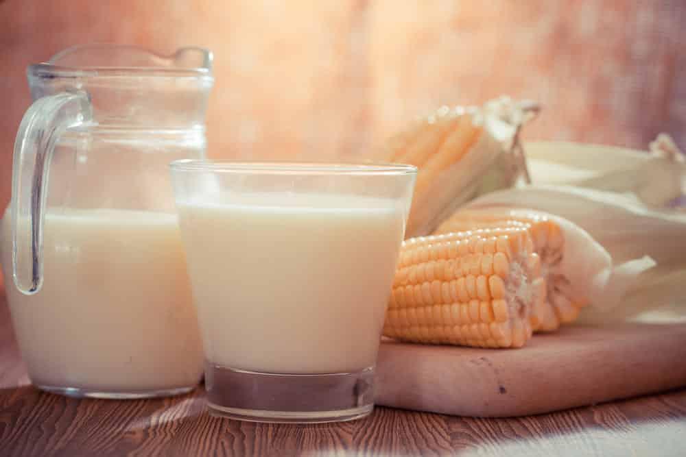 why boil corn in milk