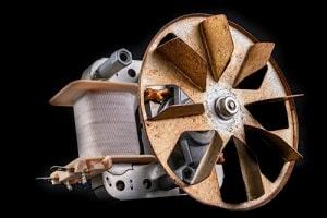 The fan's motor may be faulty
