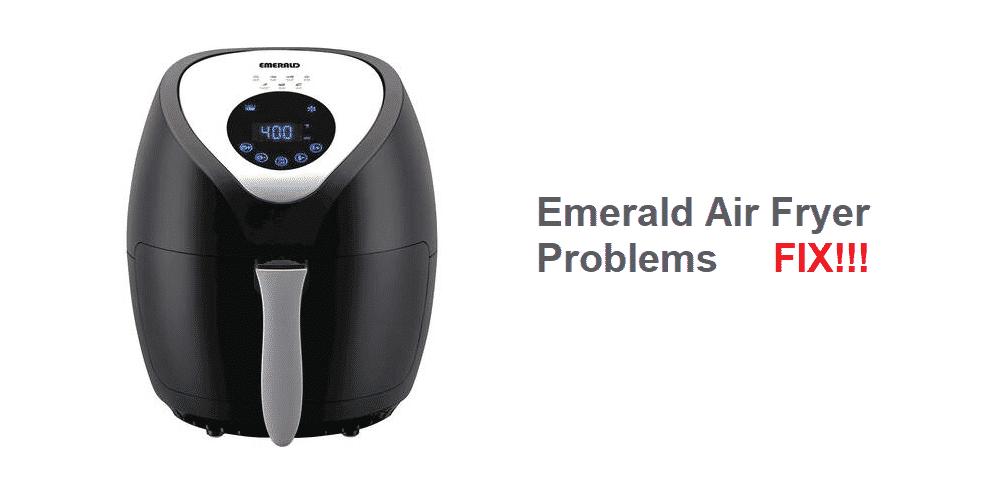 emerald air fryer problems