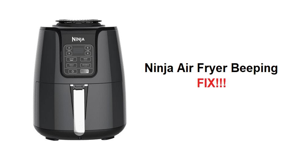 ninja air fryer beeping