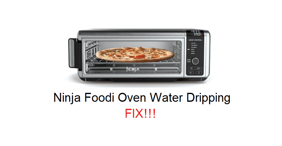ninja foodi oven water dripping