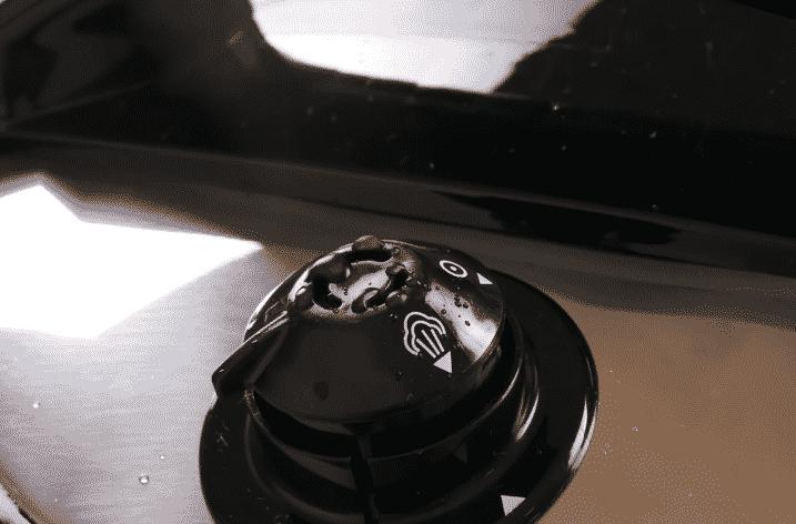 Check the pressure valve