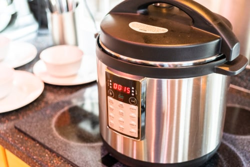 The pressure cooker is a great appliance