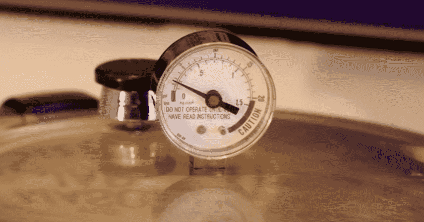 presto pressure cooker gauge not rocking