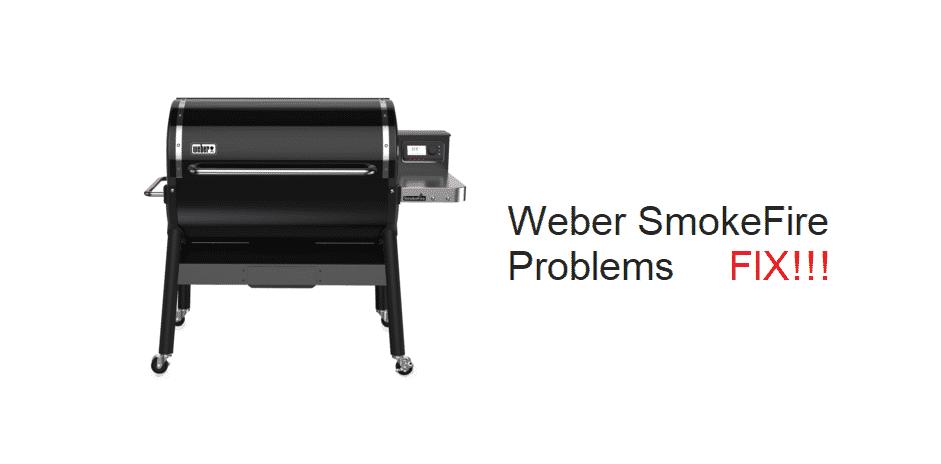 weber smokefire problems