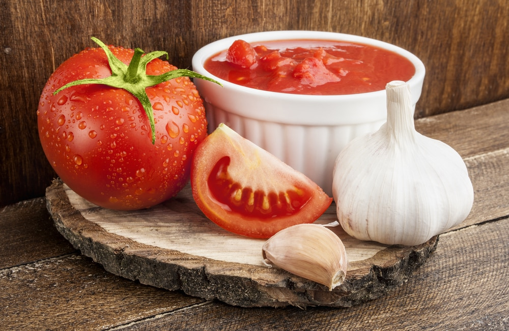 Ketchup with Garlic