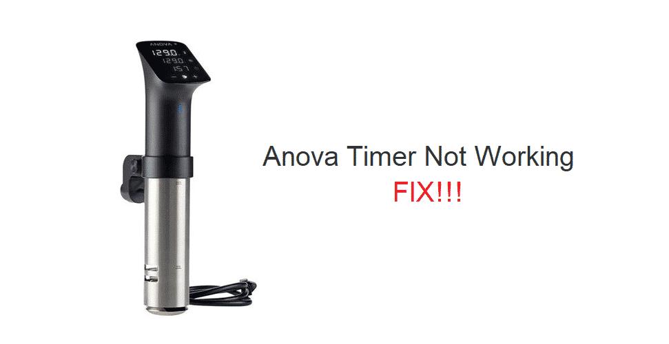 anova timer not working