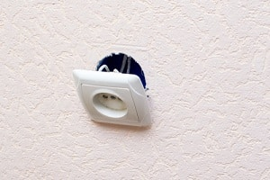 Don't use a faulty socket