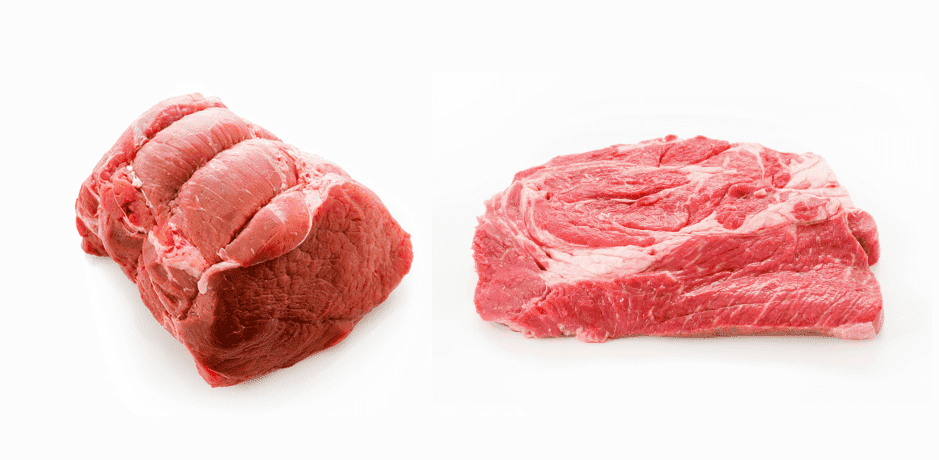 chuck roll vs chuck roast