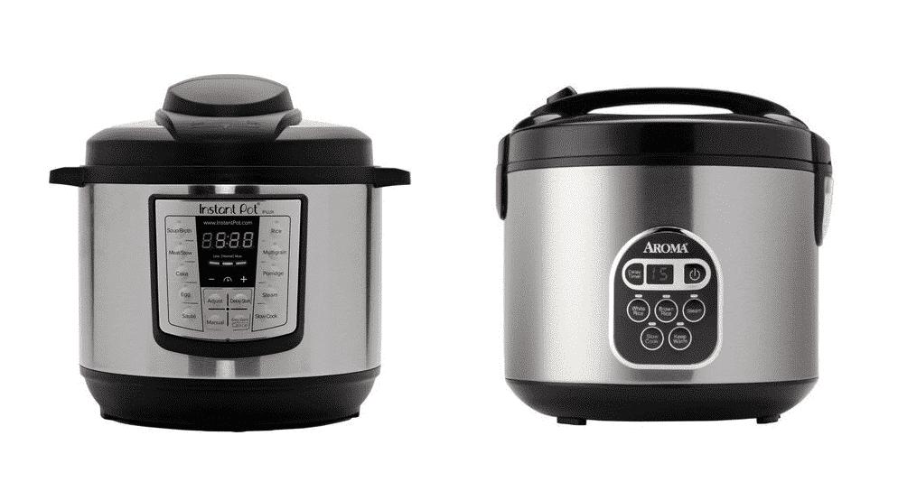 instant pot vs aroma rice cooker