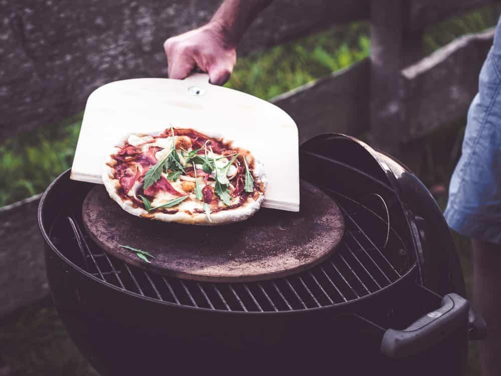 pizza stone substitute alton brown