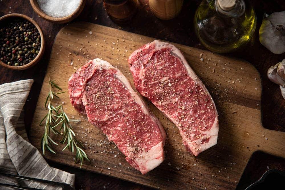 season meat before freezing