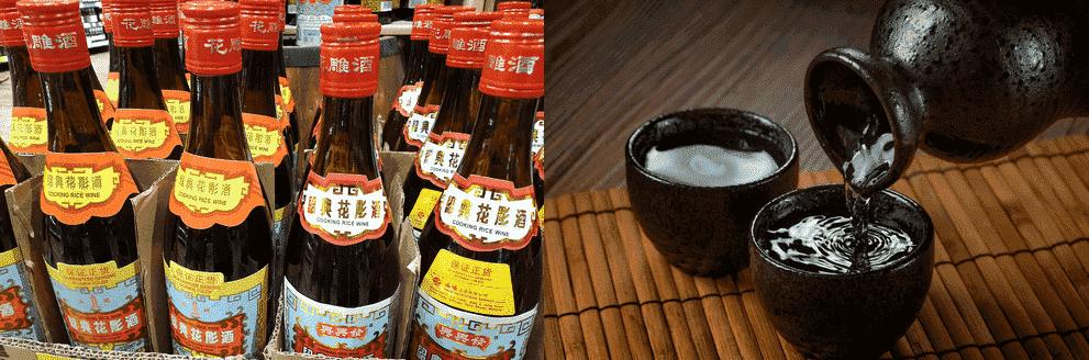 shaoxing wine vs sake