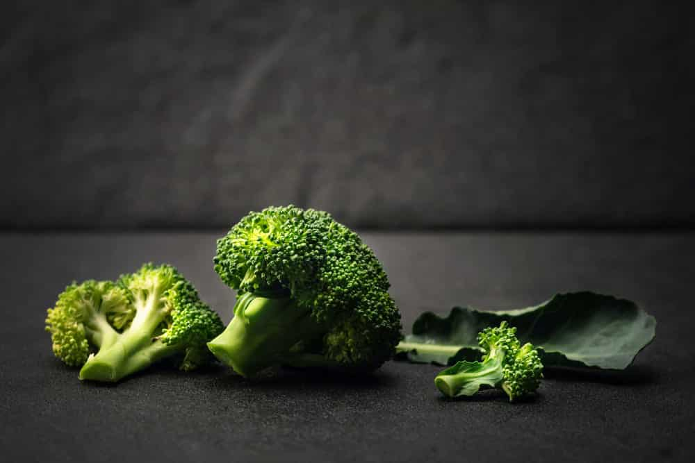 black spots on broccoli