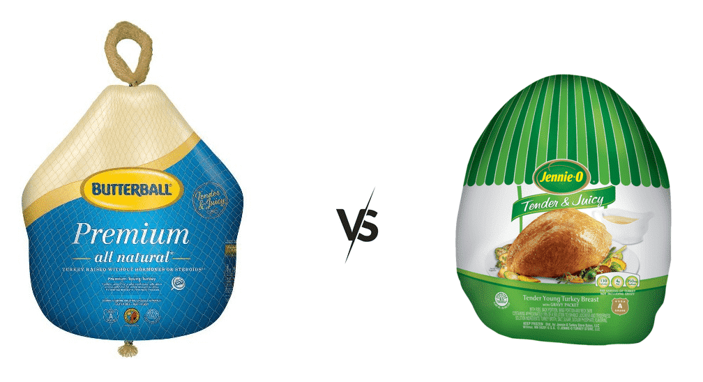 butterball vs jennie o turkey