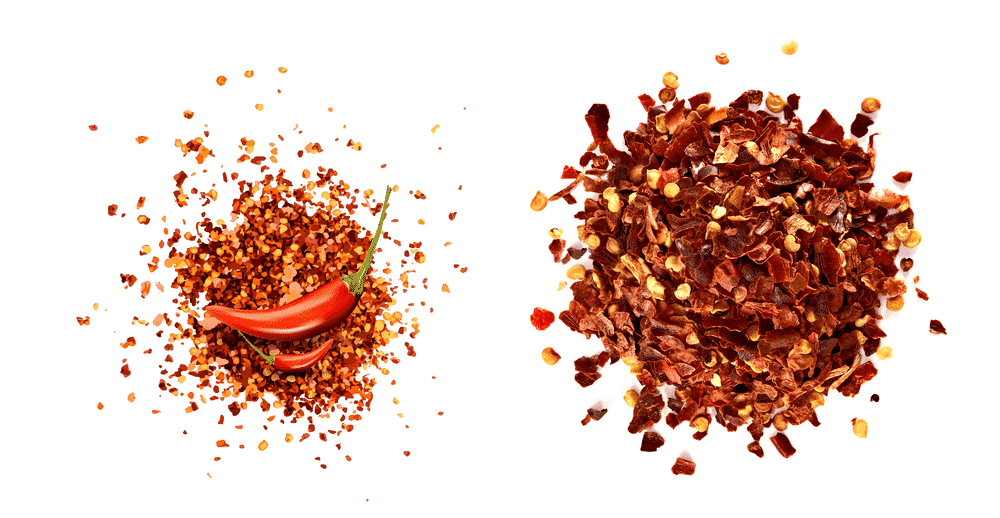 crushed red pepper vs red pepper flakes