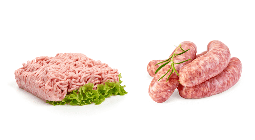 ground pork vs pork sausage