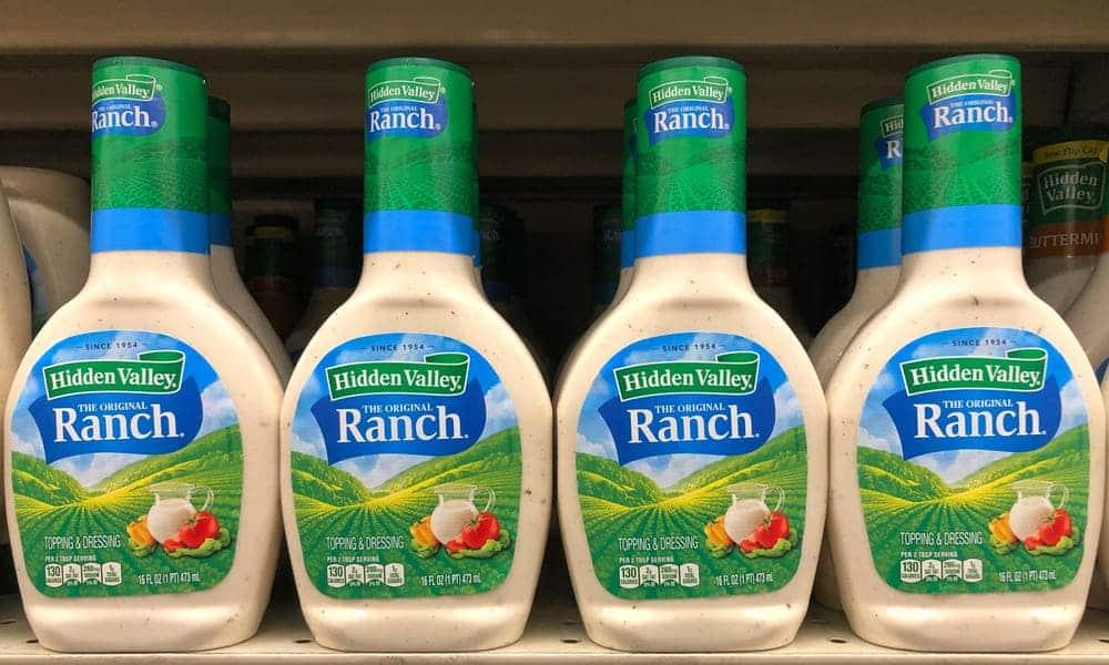 hidden valley ranch dressing mix vs dip