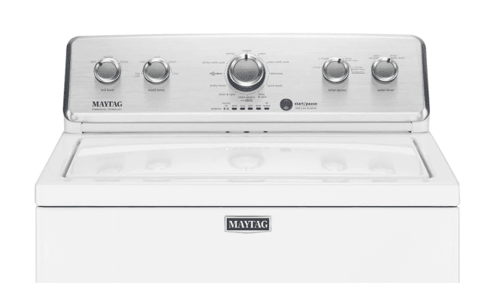 maytag centennial washer won't spin