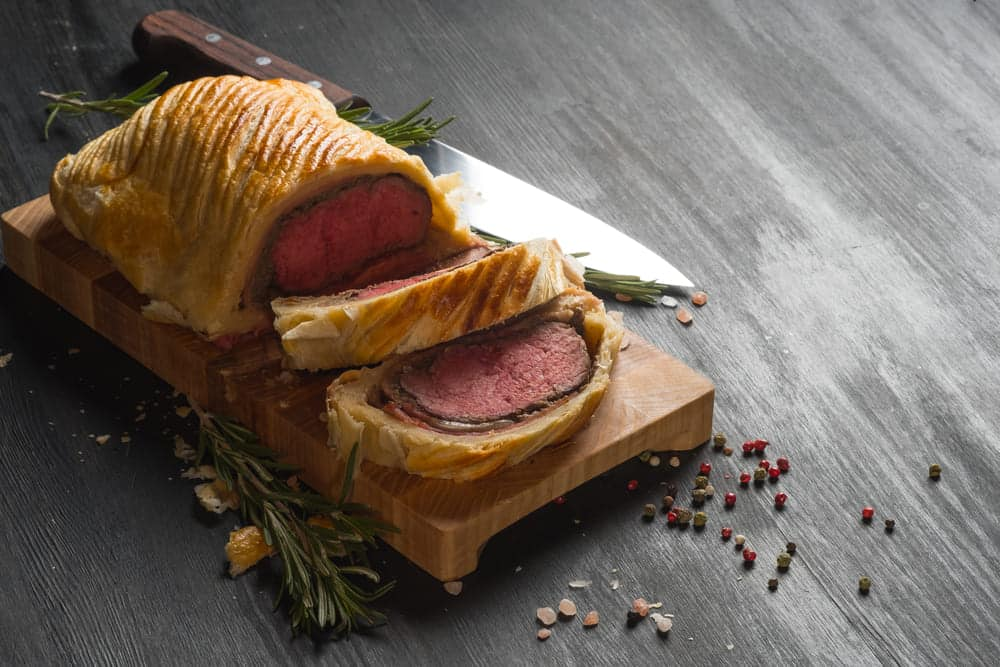pate substitutes in beef wellington