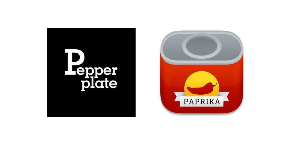 pepperplate vs paprika