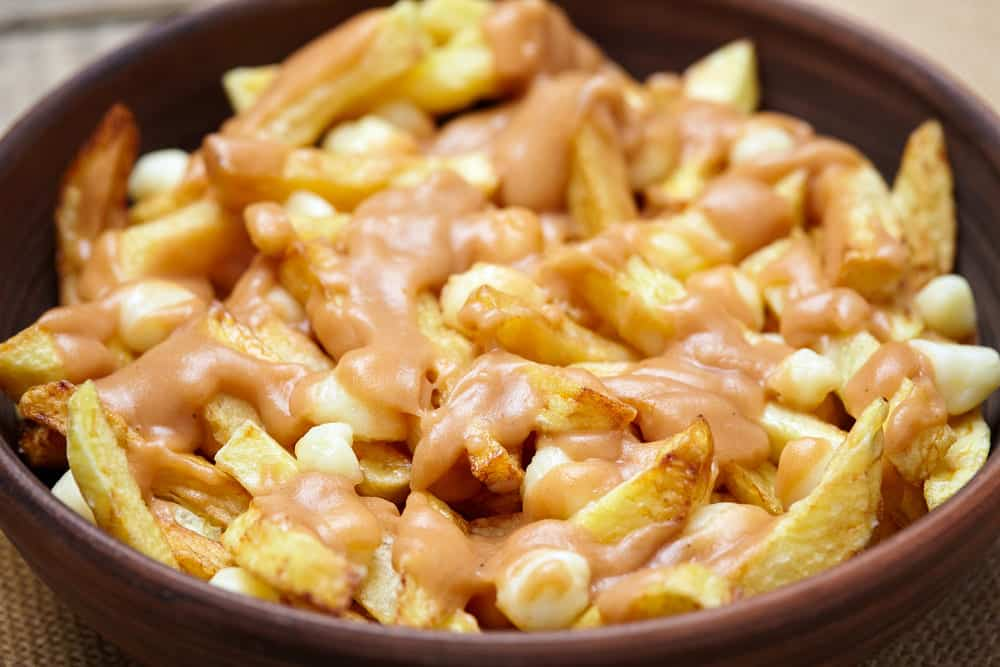 poutine cheese curd substitutes