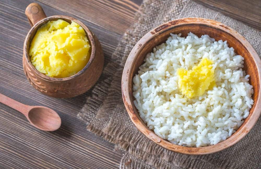 substitutes for butter in rice