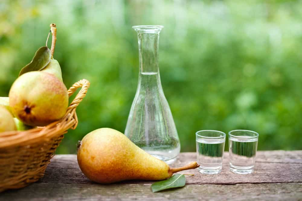 substitutes for pear brandy