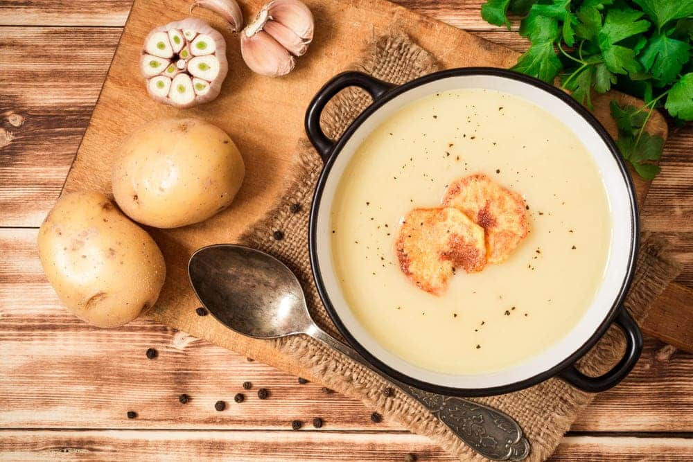 substitutes for potato in soup
