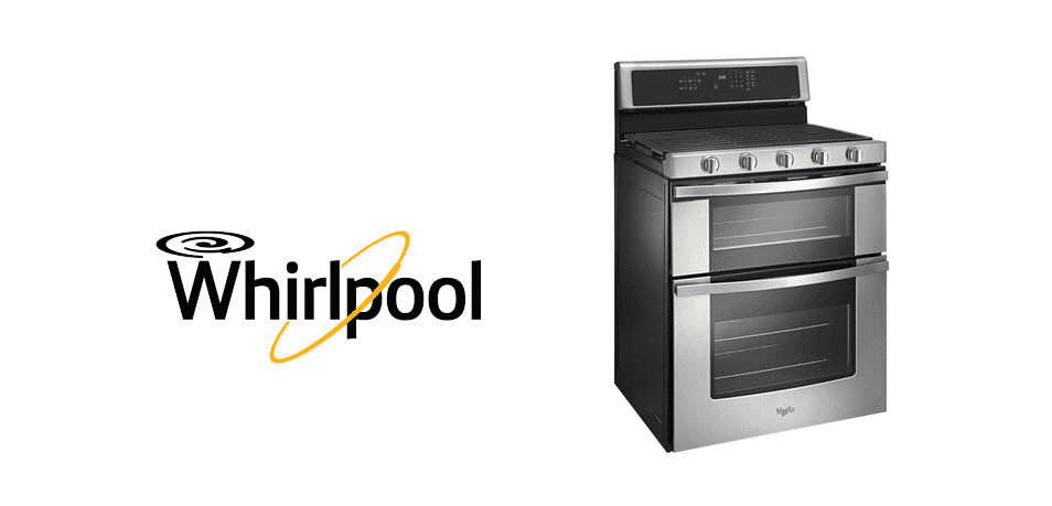 whirlpool double oven display not working