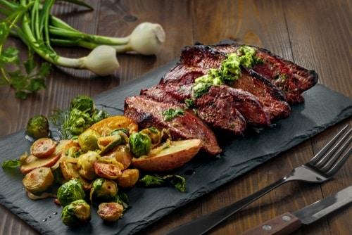 Pan-Seared Hanger Steak