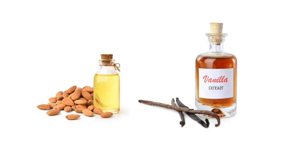 almond extract vs vanilla extract