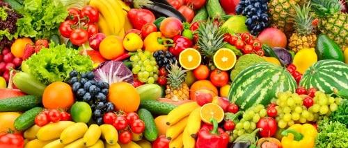 Assorted Fresh Fruits & Vegetables