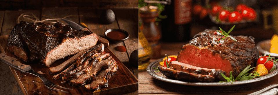 beef brisket vs chuck roast
