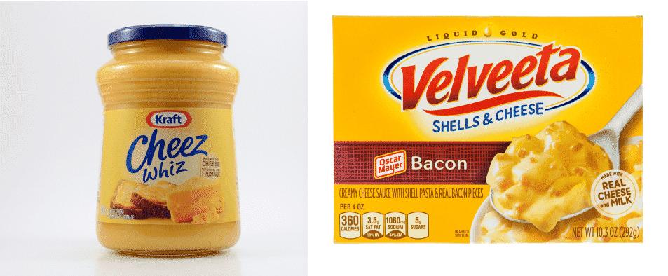 cheese whiz vs velveeta