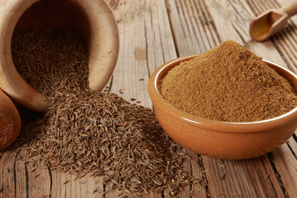 cumin seeds vs cumin powder