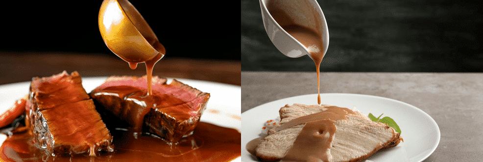 demi glace vs gravy