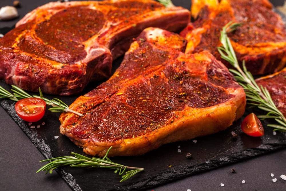 do you wash steak before marinating