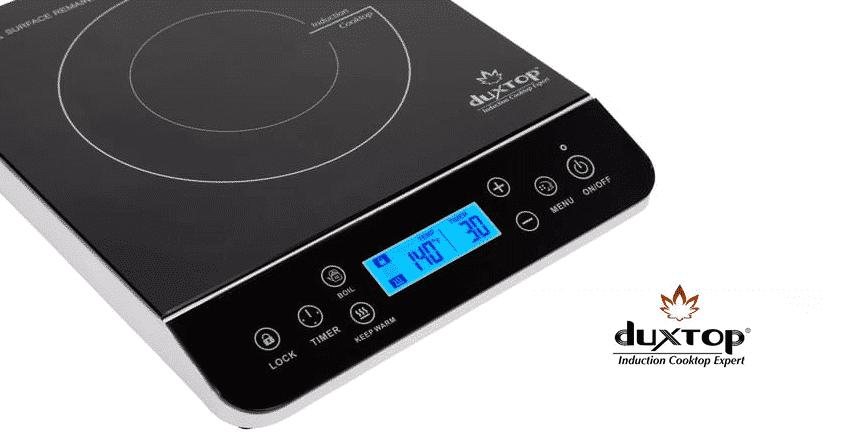 duxtop induction cooktop e0