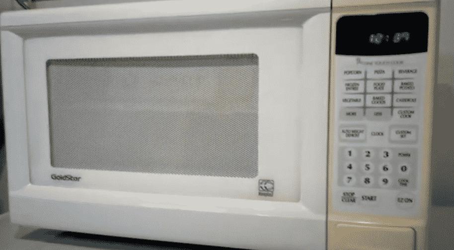goldstar microwave not heating