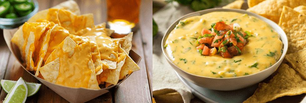 nacho cheese vs queso