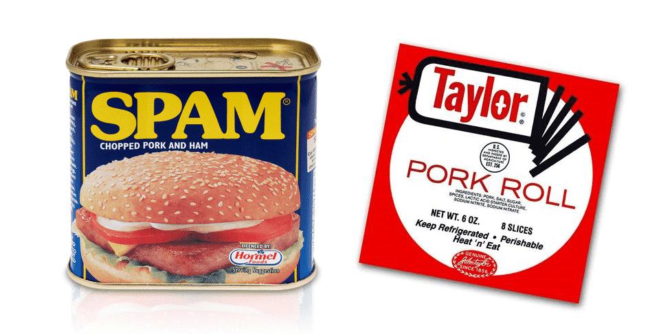 spam vs pork roll