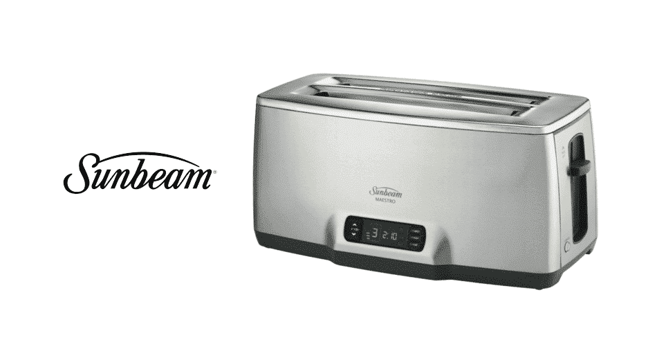 sunbeam toaster won't stay down