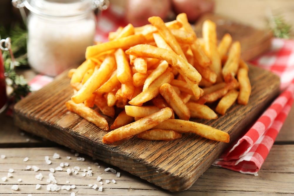 How to cook French fries from fresh