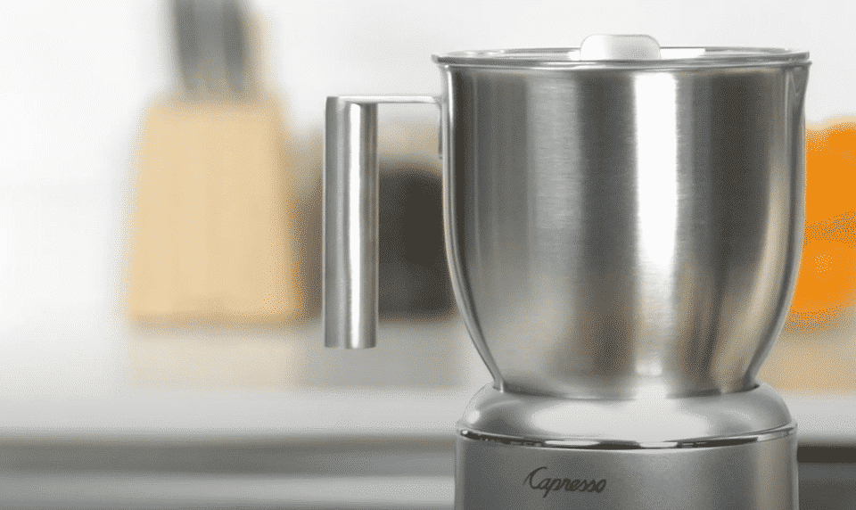 capresso milk frother problems