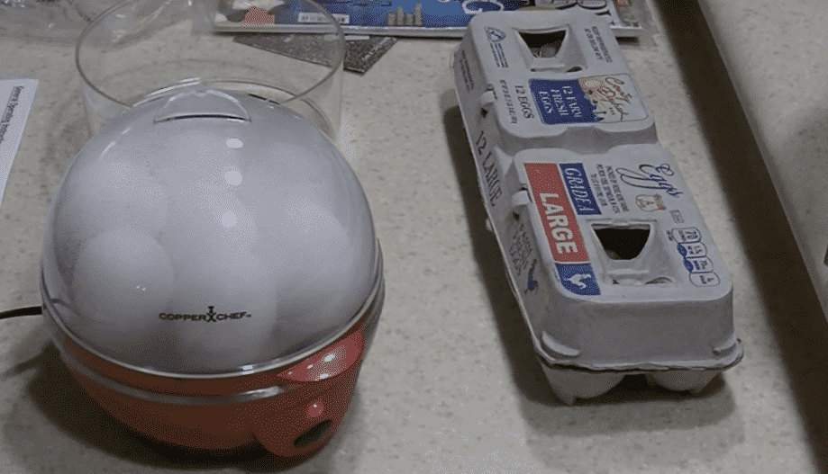 copper chef egg cooker problems