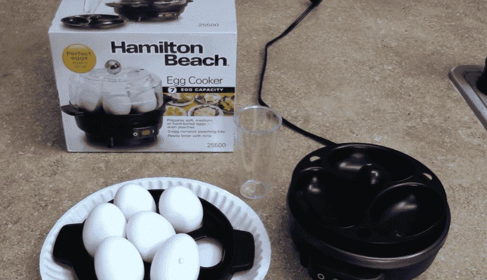 hamilton beach egg cooker problems