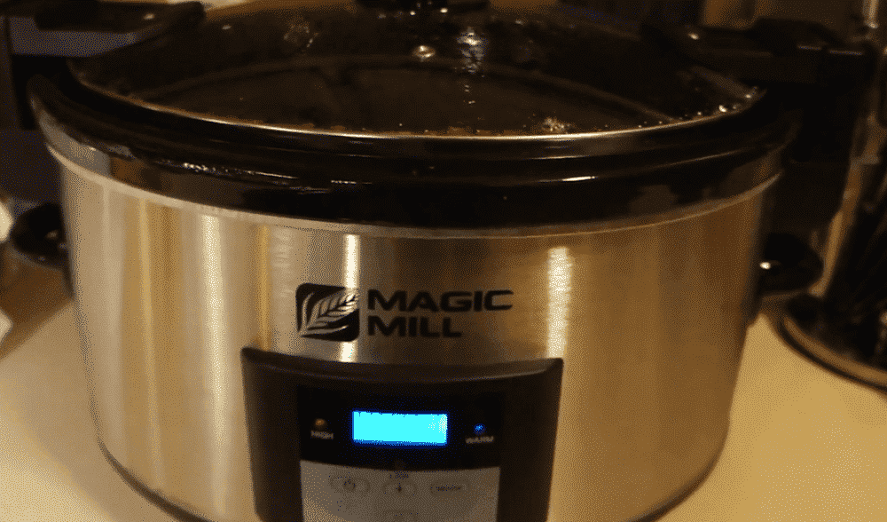 magic mill slow cooker problems